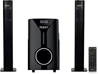 FLEXY® Germany 2.1 Channel 5000W PMPO Home Theater Sytem With Remote, Bluetooth, USB/Card And FM Radio