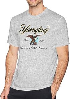 Yuengling Bomber Tee Shirt Grey