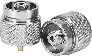 Regalo de julio Buen rendiG3 / 4 DN20 Adaptador de estufa de camping, Adaptador de tanque de gas, Uso de para adaptador de estufa Camping al aire l