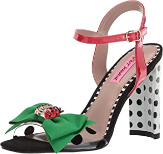 Betsey Johnson Women's Bini Heeled Sandal
