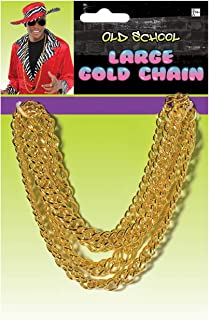Amscan Large Chain, One Size, Gold