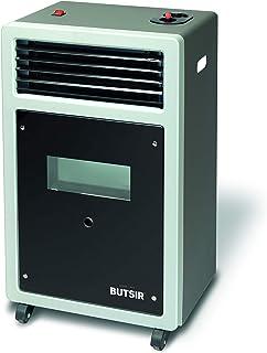 Estufa BUTSIR Llama Azul Plus con opción calefactor, visor