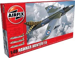 Airfix Hawker Hunter F.6 1:48 Military Aircraft Plastic Model Kit A09185