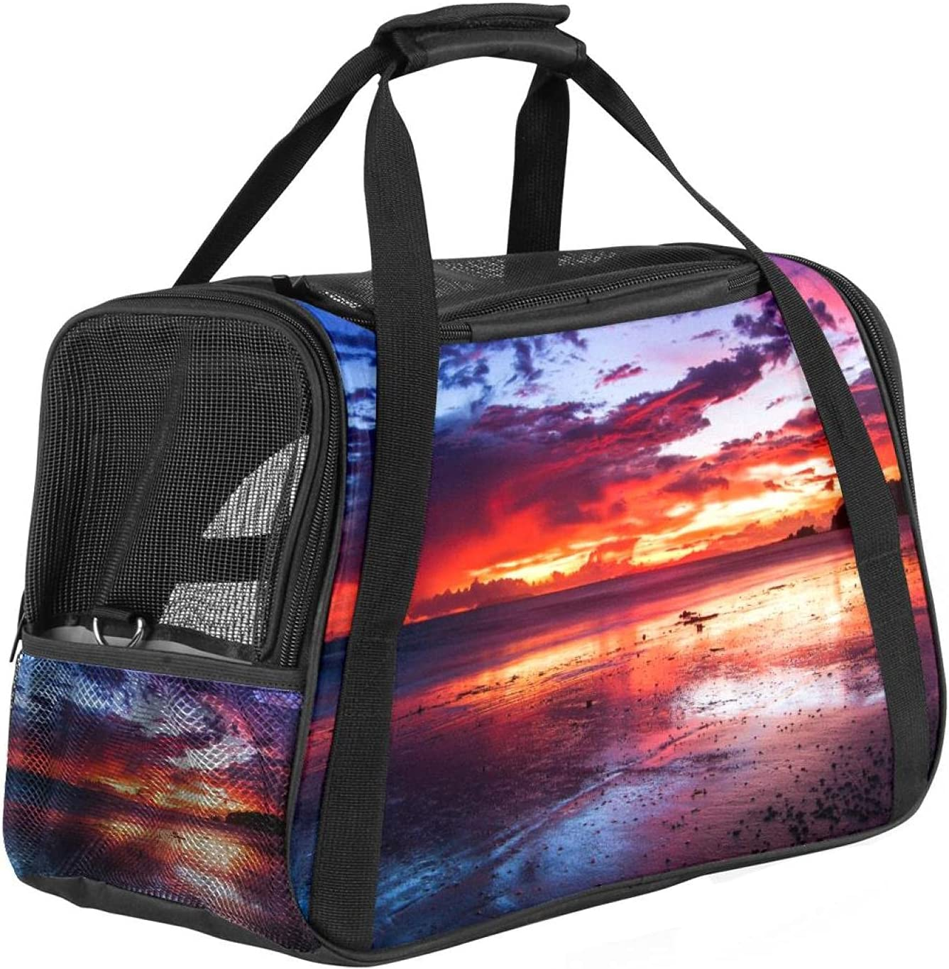 Pet Carrier for Dog and Manufacturer regenerated product Tra Soft-Sided Airline Cats Approved Al sold out.