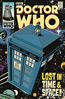 Doctor Who - Tardis Comic Cover Poster (24x36) PSA009797