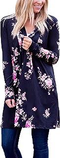 ECOWISH Kimono de manga larga para mujer, estilo bohemio, irregular, estilo casual, tallas S-3XL