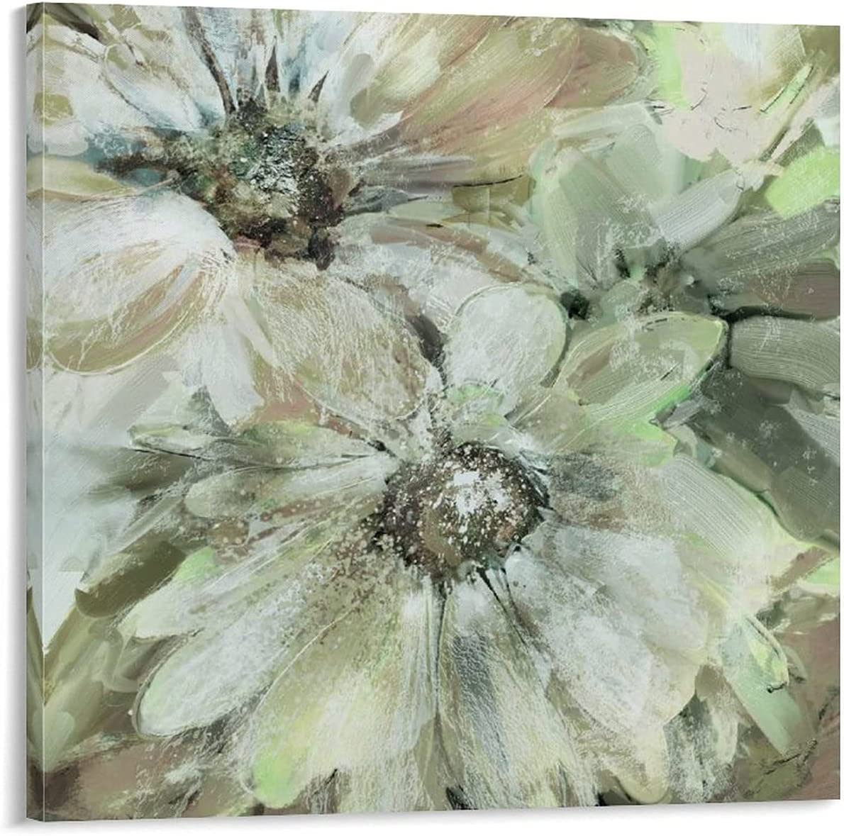 Precious Sale item Daisies Soft Max 69% OFF Square classroom decor art for wall large