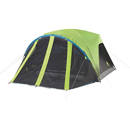 Coleman Carlsbad 4-Person Dome Dark Room Tent with Screen Room