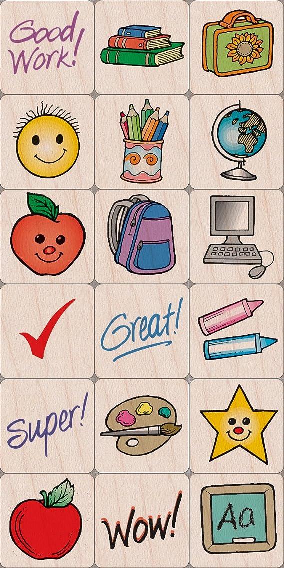 Hero Arts School Woodblock Stamp Set