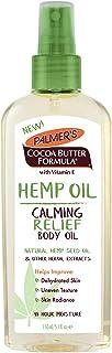 Palmer's Cocoa Butter Formula Hemp Oil Calming Relief Body Oil, 5.1 Ounces