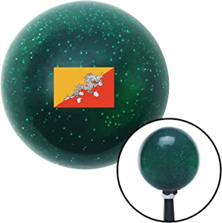 American Shifter 303427 Shift Knob (Bhutan Green Metal Flake with M16 x 1.5 Insert)