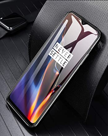 Sceva Present Edge2Edge HD Clear Tempered Glass Screen Protector for OnePlus 6T (Transparent)