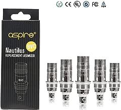 Nautilus Aspire BVC Vertikal-Dual-Coil aspire replacement Coils 5er Pack (1.8 Ohm)