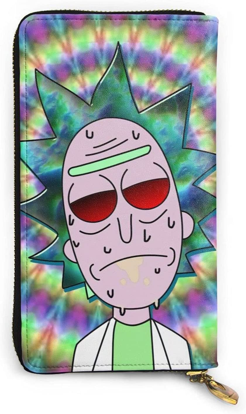 Rick Morty Wallet Cartoon Anime Women New sales Men Our shop most popular Leather Fashion