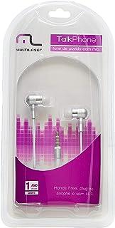 Fone de Ouvido Auricular com Microfone P2, Multilaser PH062