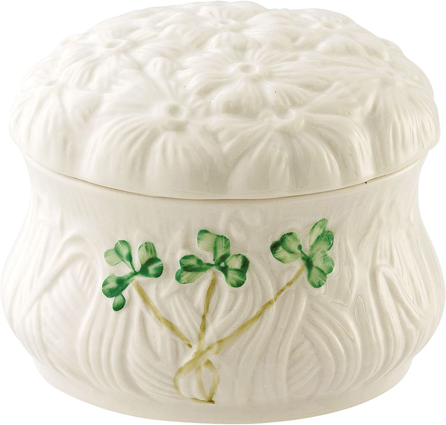 Belleek National products 1936 Fixed price for sale Daisy Trinket Box