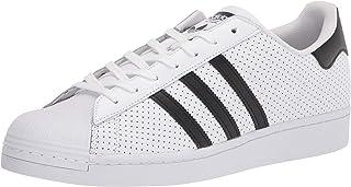 adidas Originals Superstar, Scarpe da Ginnastica Uomo, Nucleo Bianco Nero, 38 2/3 EU