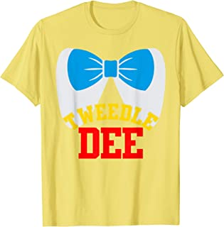 Tweedle Dee Dum funny matching halloween costume for couples T-Shirt
