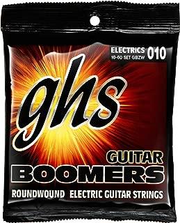 GHS Strings Boomers, Nickel-Plated Electric Guitar Strings, Heavyweight (.010.060) (GBZW)