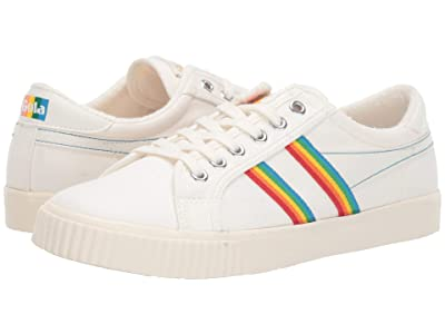 Gola Tennis Mark Cox Rainbow (Off-White/Multi) Women