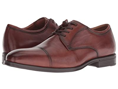 Florsheim Amelio Cap Toe Oxford (Cognac Smooth) Men