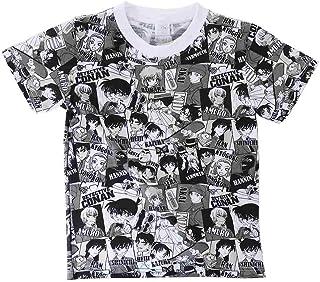 名探偵コナン[子供用Tシャツ]キッズT-SHIRTS 集合パターン 【120サイズ 】