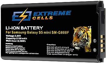 Extremecells Akku für Samsung Galaxy S5 Mini SM-G800F ersetzt EB-BG800 Batterie Battery Accu