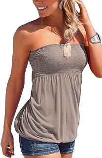 98a76c5b6a5b0 Amazon.fr : Bandeau - T-shirts, tops et chemisiers / Femme : Vêtements