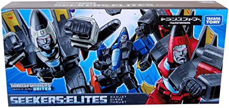 Takara Tomy Transformers Classics Asia Exclusive Seekers: Elites Ramjet Dirge Thrust