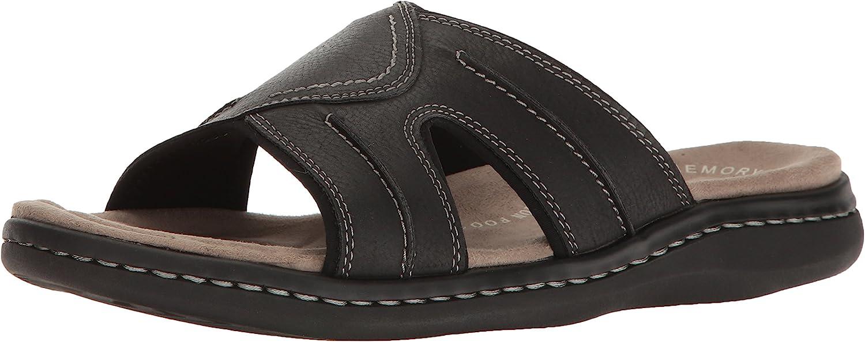 Dockers Men's Sunland Slide Sandal, Black, 9 M US