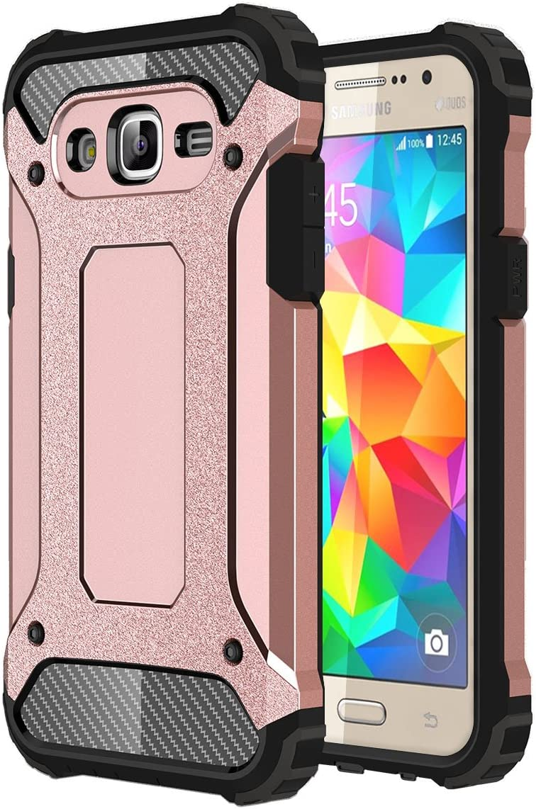 J2 Prime Case Galaxy Grand Prime Plus Case Torryka Premium Anti Scratch Dual Layer Shockproof Dustproof Armor Protective Case Cover For Samsung Galaxy J2 Prime Sm G532 Rose Gold