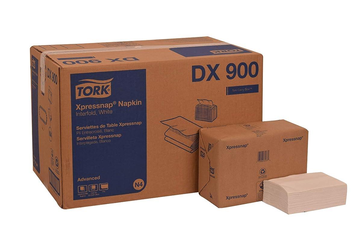 Tork DX900 Advanced Xpressnap Dispenser Napkin, Interfold, 1-Ply, 8.5