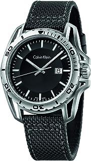 ساعة من كافن كلاين بقرص لون أسود للرجال K5Y31TB1