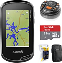 Garmin Oregon 700 Handheld GPS with Built-in Wi-Fi & Bluetooth (010-01672-00) + 32GB Memory Card + LED Brite-Nite Dome Lan...