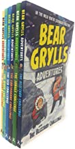 bear grylls adventures collection 6 books set gift wrapped slipcase (the sea challenge, the river challenge, the earthquake challenge, the jungle challenge,the desert challenge,the blizzard challenge)
