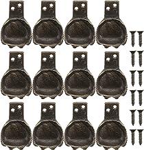 YARNOW 12Pcs Antiek Messing Doos Benen Voeten Decoratieve Sieraden Gift Box Corner Protector Sieraden Doos Voeten Been (Br...