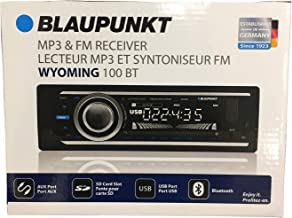 Blaupunkt Wyoming 100 BT MP3 & FM Receiver 4 Channel Output with Bluetooth USB Port, SD Card Slot & AUX Port