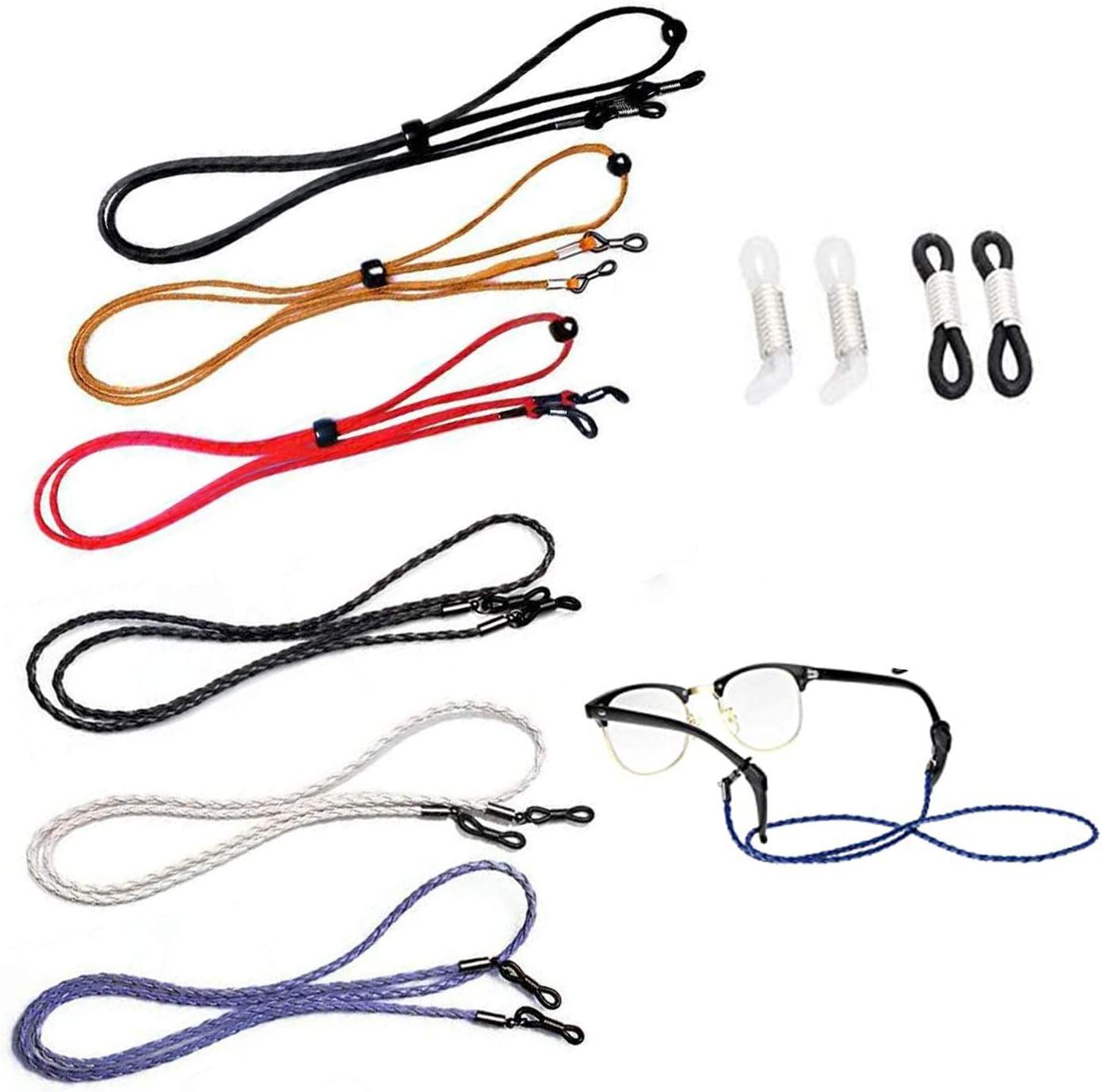 6 Pcs Eyeglasses String Holder Straps Adjustable Eyewear Safety Branded Many popular brands goods