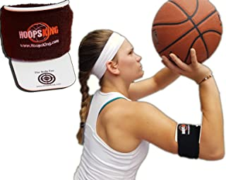 HoopsKing Bullseye Basketball Shooting Training Aid, Perfect Form Every Time