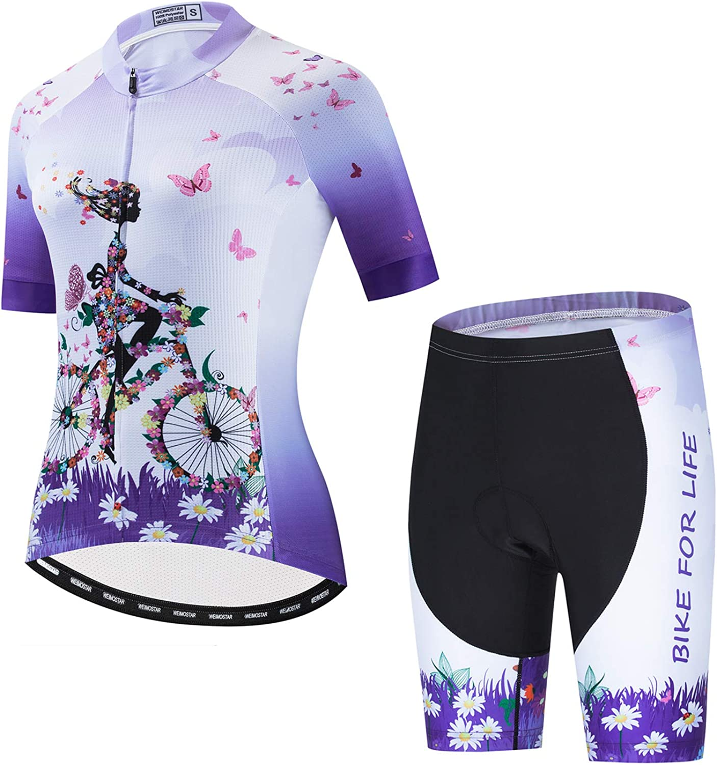 Women's Cycling Special Campaign Factory outlet Jersey Short Sleeve with Shorts Padded Quick-Dry