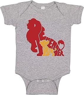 GLGFashion Unisex Lion King Sunset Pride Newborn Baby 6-24 Months Baby Climbing Clothing Baby Long Sleeve Garment Black Jumpsuits Bodysuits Baby Romper