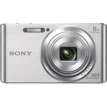 Sony DSCW830 20.1 MP Digital Camera with 2.7-Inch LCD (Silver)