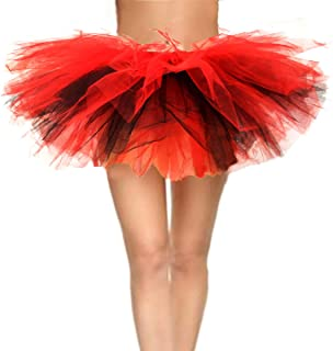 black and red tutu costume
