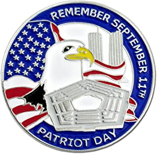 PinMart 9/11 September 11 Patriot Day Twin Towers Lapel pin