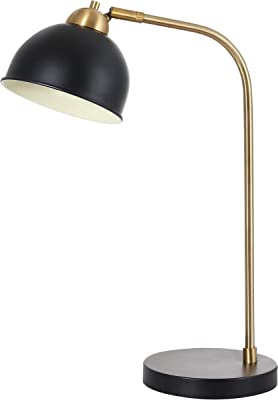 Safavieh TBL4127A Lighting Collection Bilston Table Lamp, Black/Gold