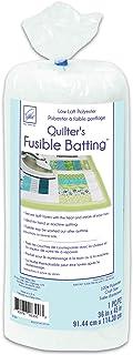 June Tailor JT-830 Quilt Low Loft Fusible Batting, 36 x 45