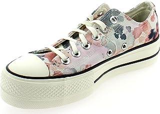 CONVERSE CTAS Lift OX Platform Zapatos Deportivos para Mujer Rosa 570970C