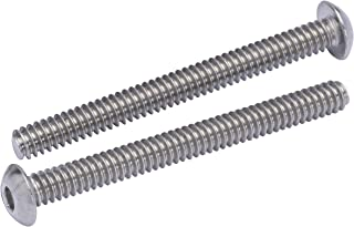 10-24 X 3//8 Slotted Flat Machine Screws 80-82 Degree 316 Stainless Steel Package Qty 100