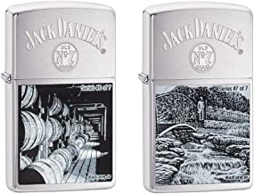 Zippo Limited Jack Daniel's Scenes From Lynchburg Lighters 6 and 7 29178 & 29179