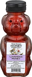 San Diego Honey Company, Honey Bear Lavender, 12 Ounce